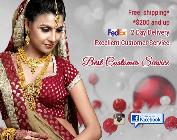 Meena Jewelers Com 22kt Gold Jewelry Store Atlanta Georgia Usa Online Indian Gold Jewelry Shop Specialize In 22 Karat Kt Gold Diamond Star Signity Necklace Set Earrings Bangles And More