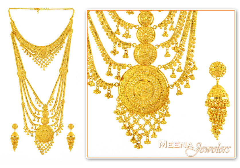 Sets (Necklace) > Bridal Necklace Sets >