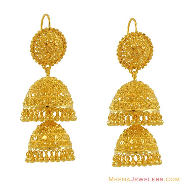 Design570570 Gold Chandelier Earrings for Wedding Rose Gold – Gold Chandelier Earrings