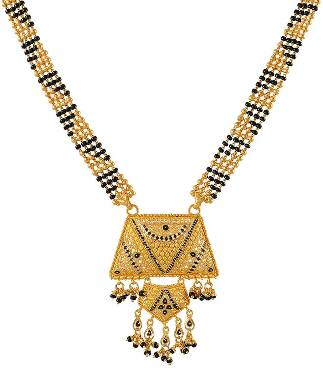 long chain gold mangalsutra Quotes