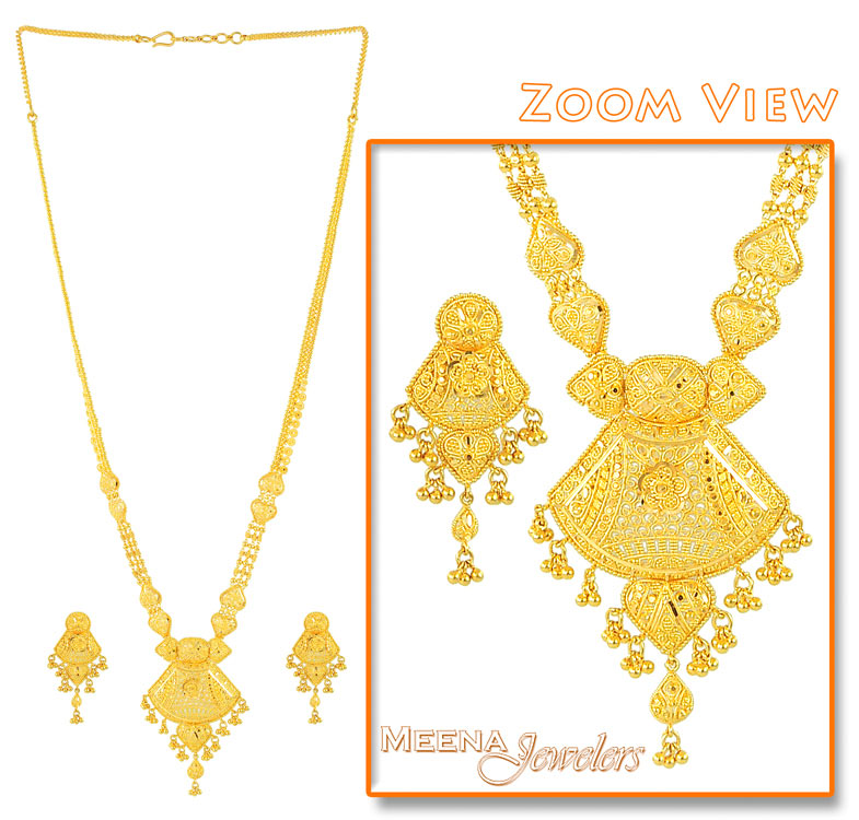 Gold Plated Long Necklace-Gold Plated Long Necklace Manufacturers