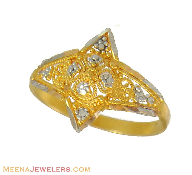 Indian Engagement Gold Ring Designs Photos of Gold Ring Designs