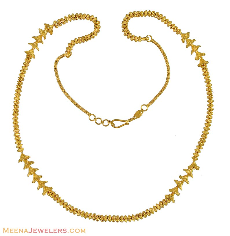 Gold: Gold Chain Indian Designs