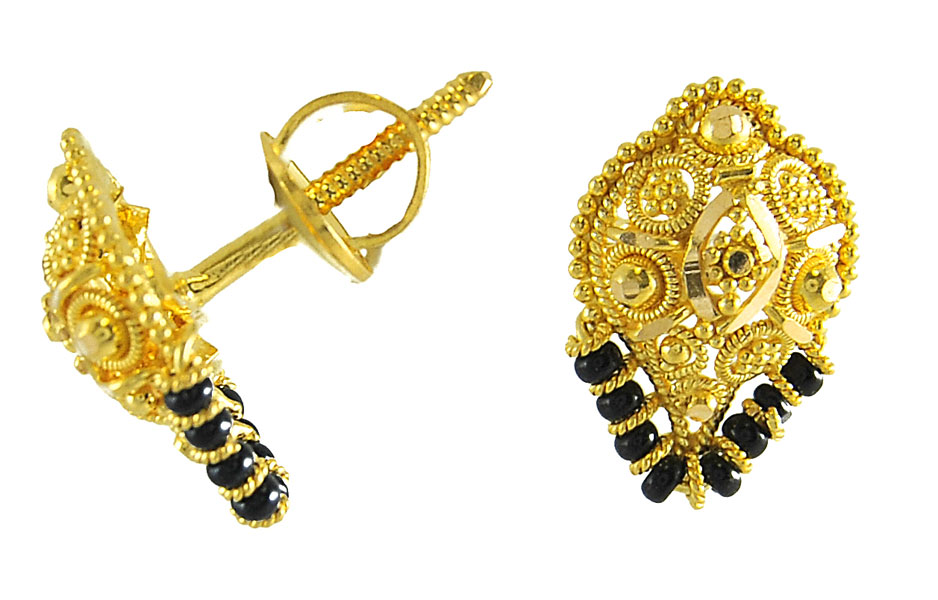 Latest Fashion Trends: latest gold earring designs