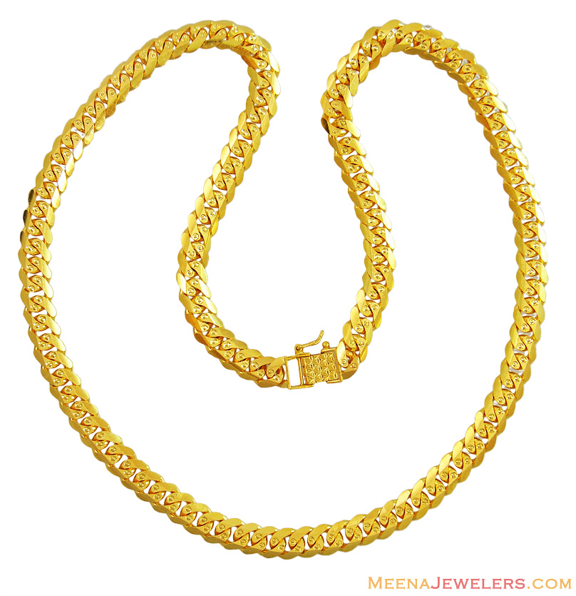 gold chain rope thick chains link indian fancy