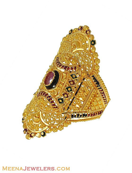 Gold Indian Gold Rings Wedding