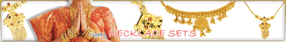 22 Kt Gold - Light and Attractive Necklace Sets