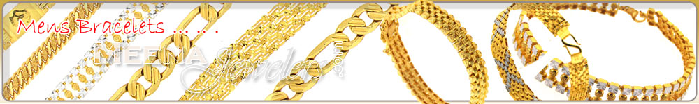 22 Kt Gold Men's Bracelets