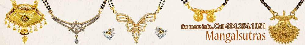 MangalSutra in 18K and 22Kt gold in different designs