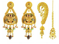 22kt Gold Earrings Collection Of Indian Gold Earrings
