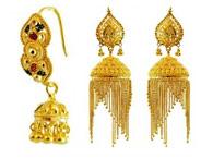 22kt Gold Fancy Earrings