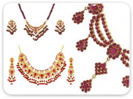 Sets (Ruby, Emerald, Sapphire) >  Ruby Necklace Sets >