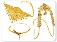 Miscellaneous Gold Jewelry >  Gold Armlet (Baju Bandh) >