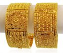 22K Gold Bridal Kada (1 Pc only) - Click here to buy online - 2,543 only..
