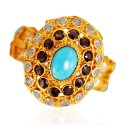 22K Gold Antique  Ring  - Click here to buy online - 559 only..