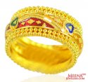 22k Gold Filigree Band