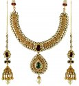 Click here to View - 22K Gold Bridal Antique Set