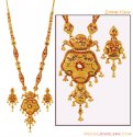 Click here to View - 22K Long Necklace set