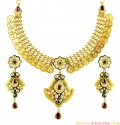 Coin Style 22K Gold Antique Set
