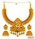 Click here to View - 22 Kt Gold Temple Jewelry Set