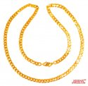 22 Kt Gold Chain 24 In - Click here to buy online - 2,842 only..