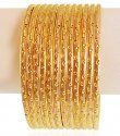 Click here to View - 22kt Gold Rhodium Bangles (12 PC)