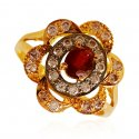 22k Gold Ruby Ring - Click here to buy online - 245 only..