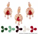 22k Designer Changeable Stones Set - Click here to buy online - 2,703 only..
