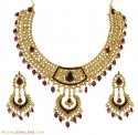 Genuin Kundan Diamond Set - Click here to buy online - 16,851 only..