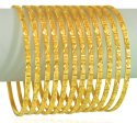 Click here to View - 22k Gold Bangles Set (Set of 10)
