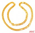 22 Karat Gold Mens Chain  - Click here to buy online - 4,710 only..
