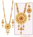 Click here to View - Bridal Gold Necklace Set