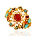 22kt Gold Stones Ring
