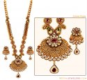 Click here to View - Gold Patta Necklace Set