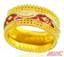 22K Traditional Meenakari Band - Click here to buy online - 757 only..