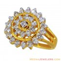 Exclusive Diamond Ladies Ring (18k) - Click here to buy online - 2,289 only..