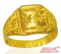 22 Karat Gold Mens Ring - Click here to buy online - 467 only..