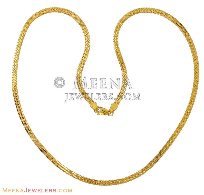 online chain chains mens plated plain model design jewelry s indian gold south jewellery jewely men wheat daily wear traditional