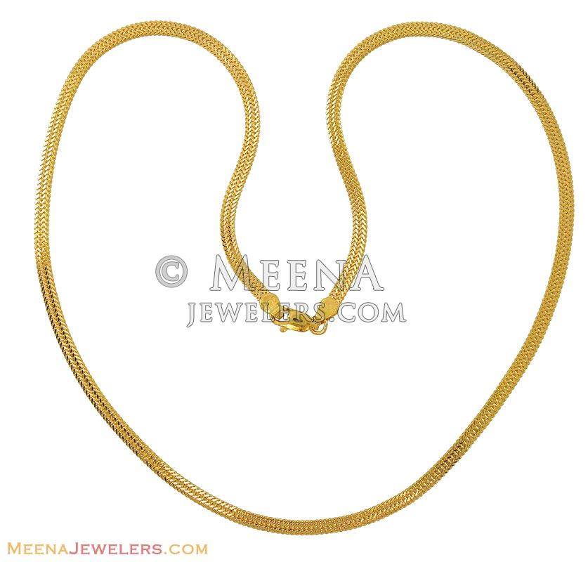 clasp chains jewellers with a minar ring c plain collections ripple gold chain