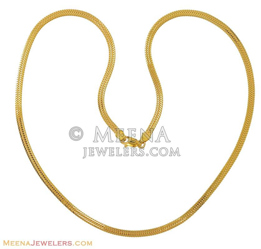 chains jewellery type sat of nithyakalyani gent plain demo gold chain s