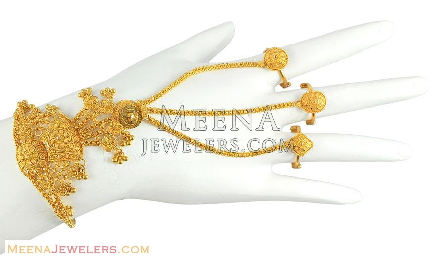 fcdc5f5c0aa30 Bridal Bracelet with Rings - BrLa5144 - Beautifully hand crafted ...