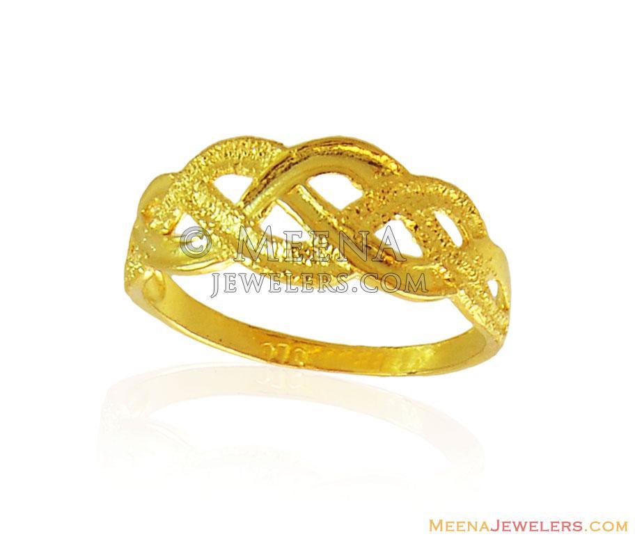 43aaece7285e96 Ladies Fancy Gold Ring 22K - RiLg16501 - 22K Gold Ladies Fancy Ring ...
