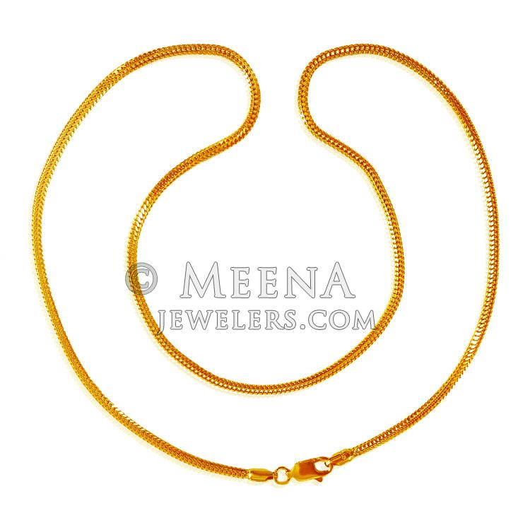 jewellery plain round chains inch pattern gold noble grams mens yellow belcher solid of chain