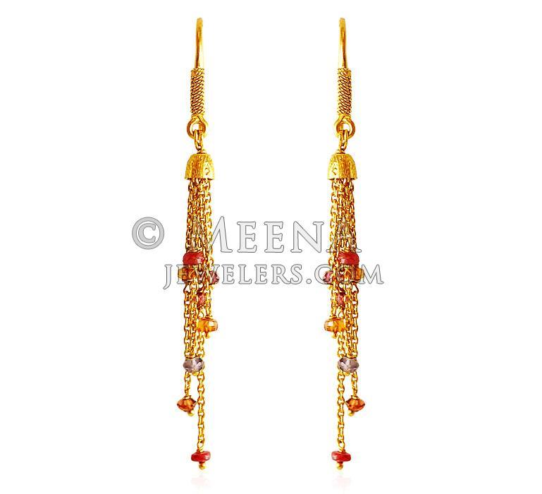 22Kt Gold Fancy Earrings ErFc 22Kt Gold Earrings