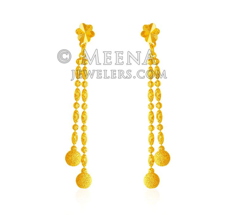 earrings beautiful karat total solid gold carats