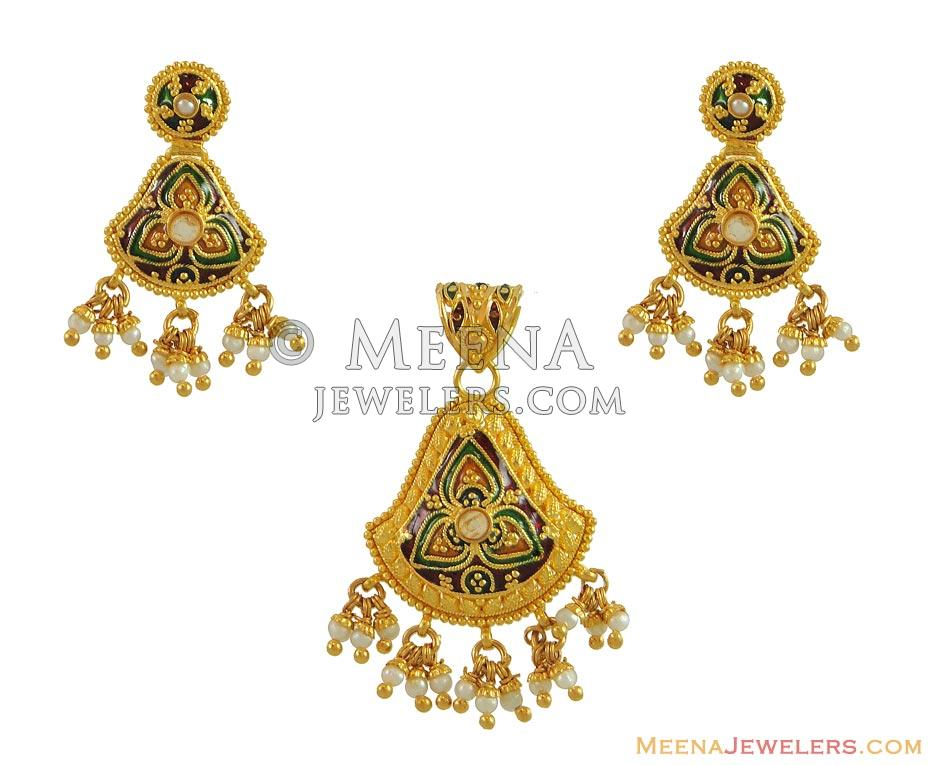 pendants pendant indian gold shop the set buy attractive