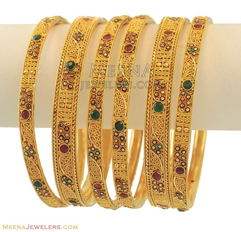 rhodium design gold with collections a bangles minar two jewellers b tone designed