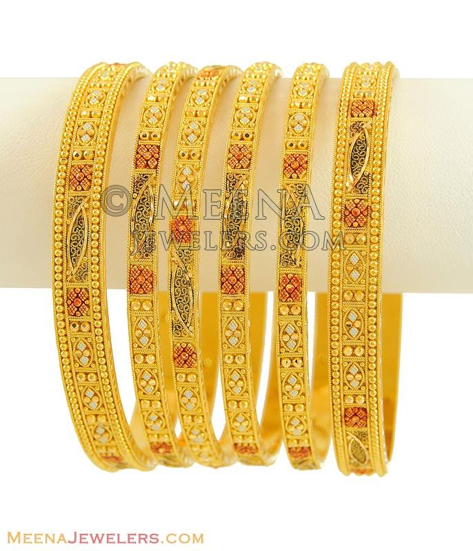 collections gift itsallagift kids bangle color teen a bangles it tricolor s bracelets all tri