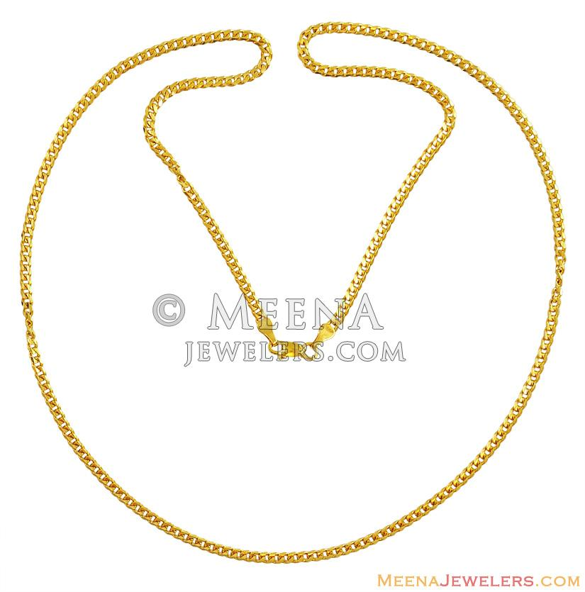 regal necklace link jewels chain plain inc gold east chains karat