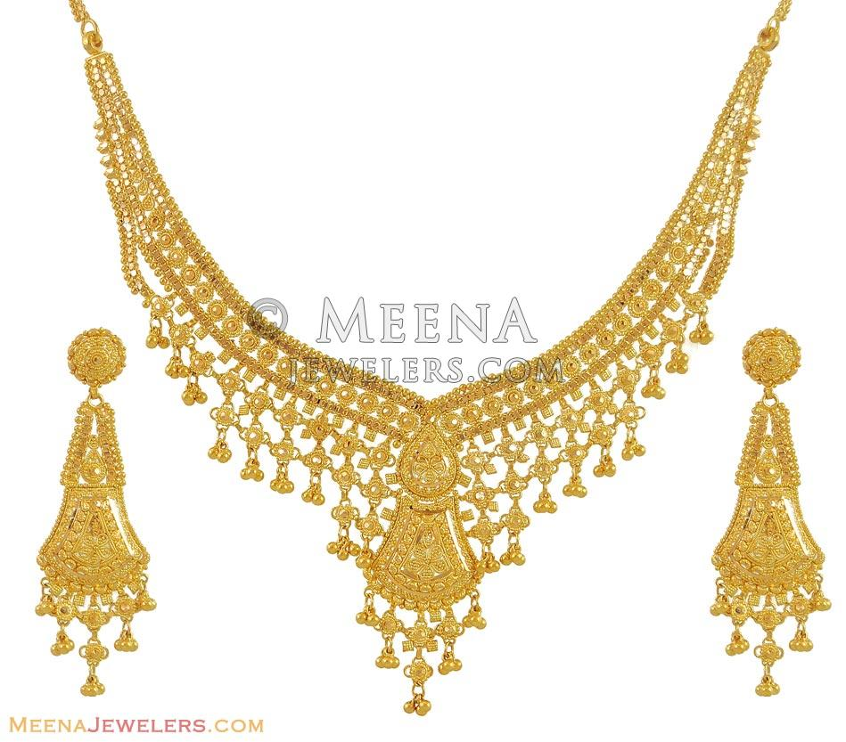 myshoplah necklace list dfbbaebb indian wish jewelry gold set ct